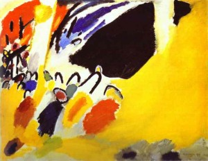 Improvisation no.III, Wassily Kandinsky, 1911