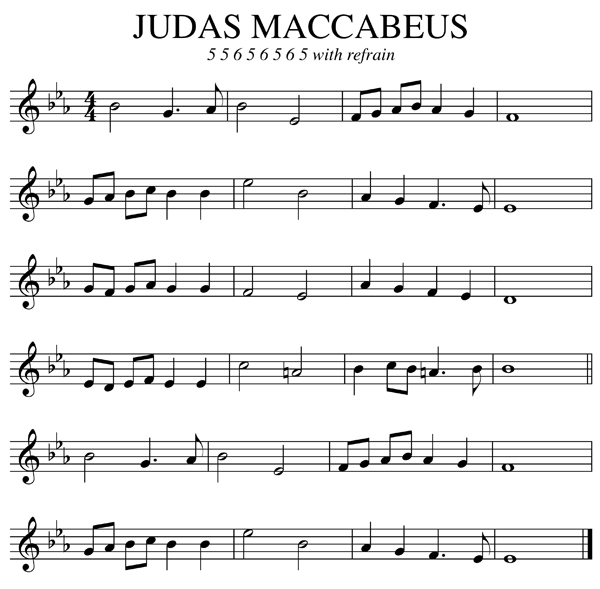 Judas Maccabeus Organ Improvisation